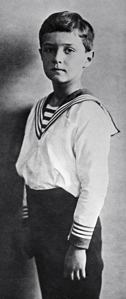Aleksy - jedyny syn Mikołaja II