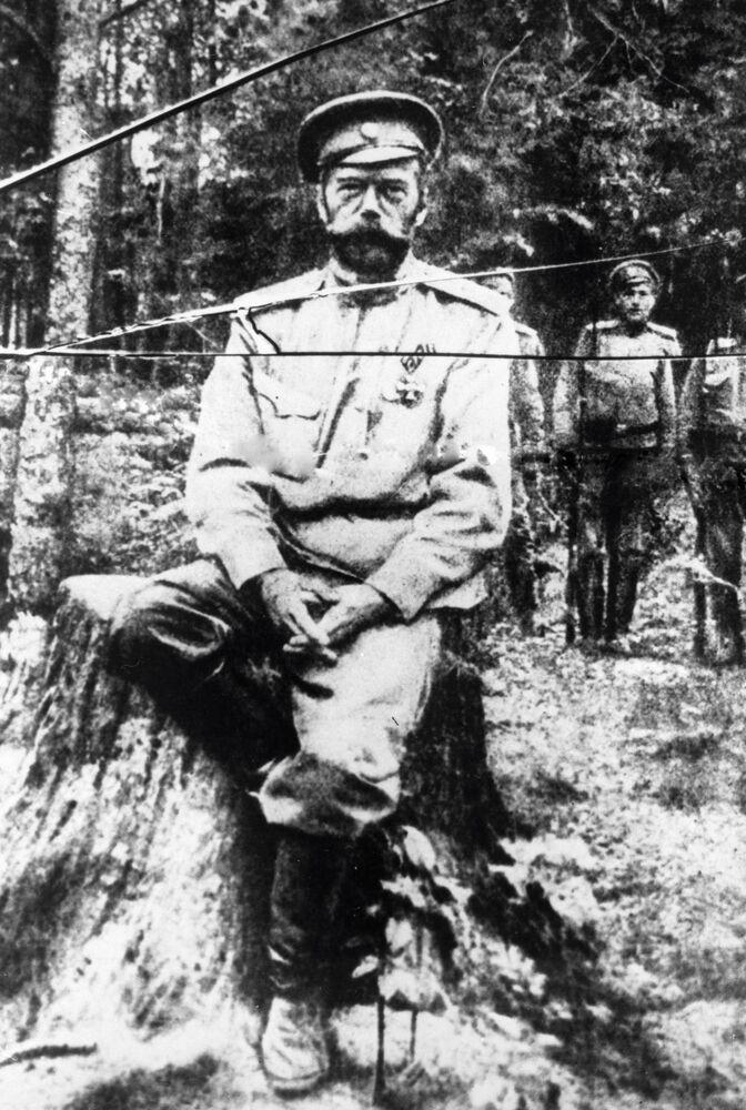 Jedno z ostatnich w życiu zdjęć Mikołaja II