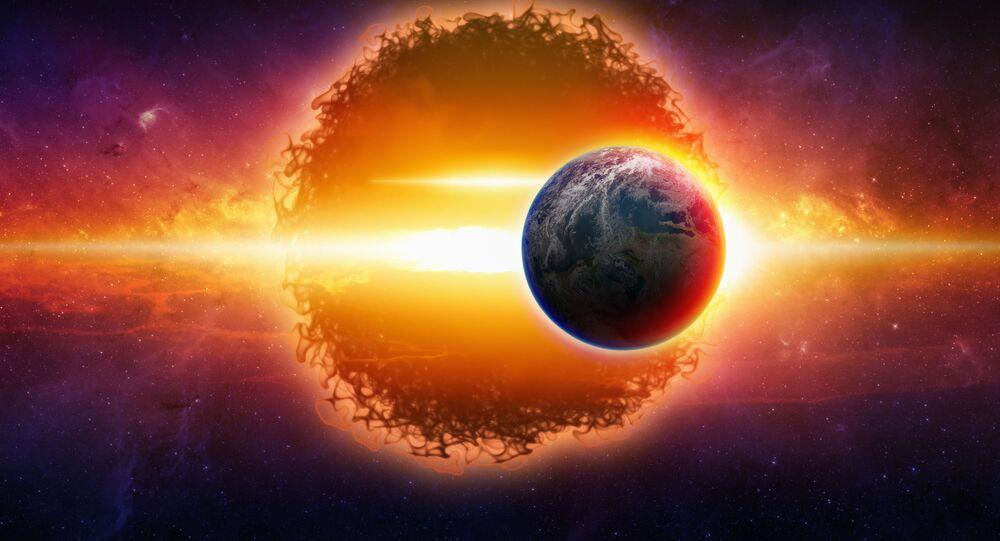 Artystyczna wizja nieznanej planety