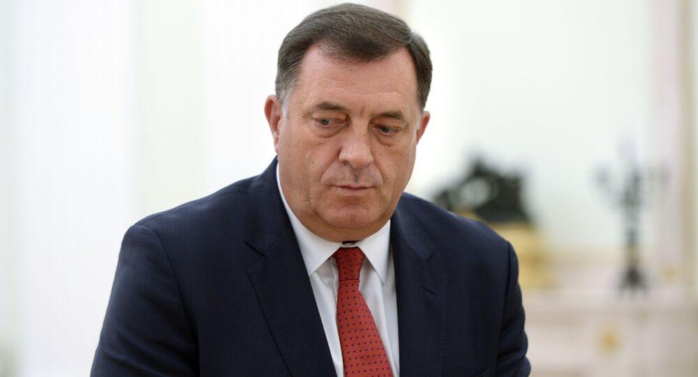 Prezydent Republiki Serbskiej Milorad Dodik