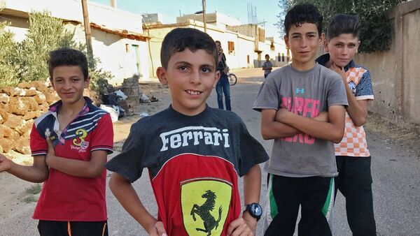 Mieszkańcy syryjskiej wioski Alma wrócili do swoich domów po wyzwoleniu od terrorystów - Sputnik Polska