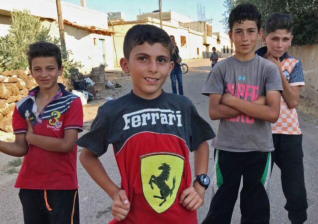Mieszkańcy syryjskiej wioski Alma wrócili do swoich domów po wyzwoleniu od terrorystów