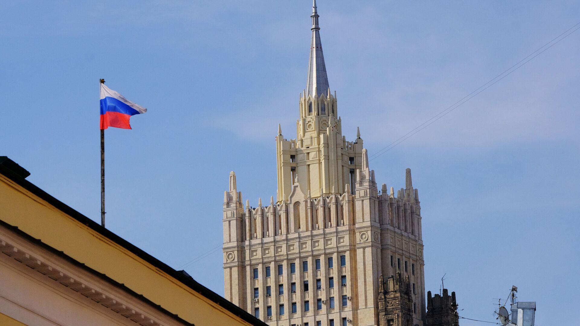 Budynek MSZ Rosji w Moskwie - Sputnik Polska, 1920, 14.07.2021
