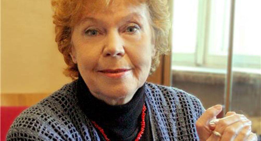 Aktorka Izolda Wysocka