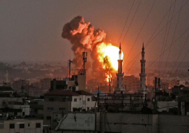 Bombardowania Izraela w Strefie Gazy