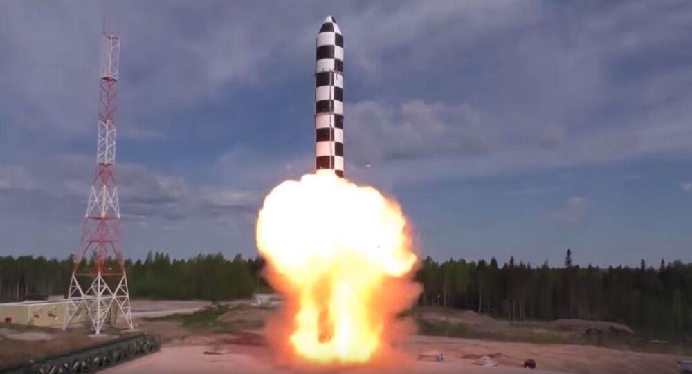 Test rakiety Sarmat