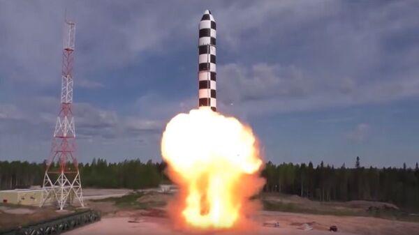 Test rakiety Sarmat - Sputnik Polska