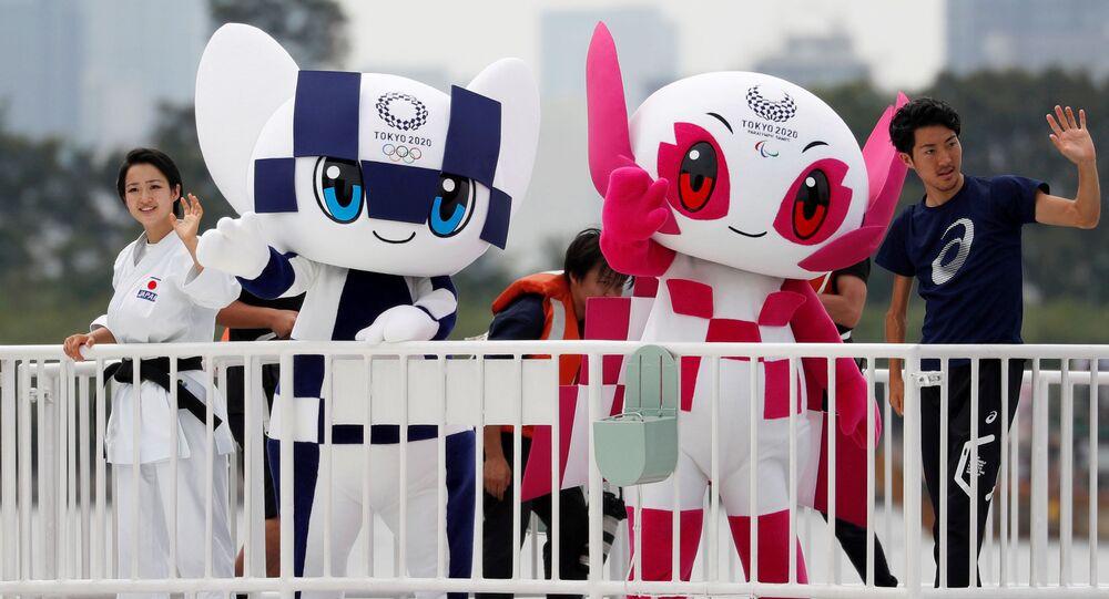Maskotki Olimpiady 2020