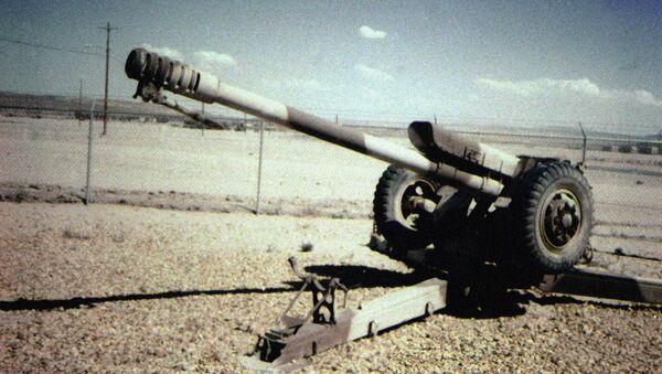 Radziecka haubica kalibru 122 mm D-30 - Sputnik Polska