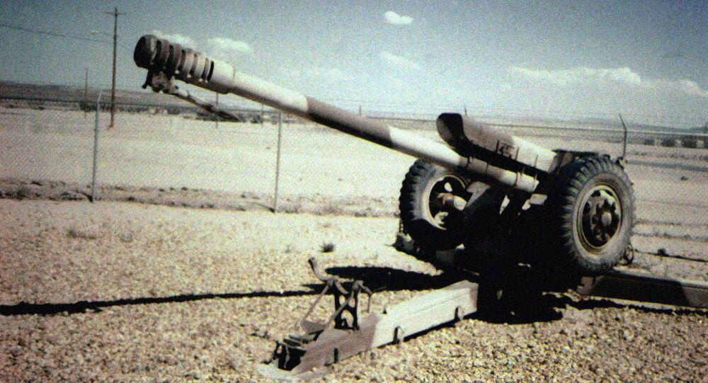Radziecka haubica kalibru 122 mm D-30