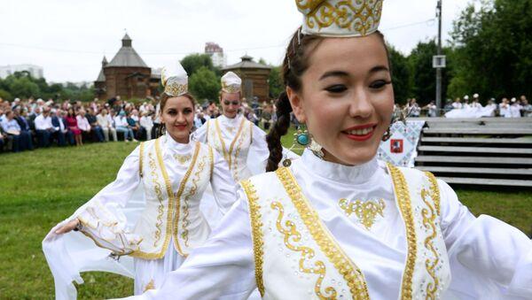 Festiwal Sabantuj 2018 w moskiewskim parku Kołomienskoje - Sputnik Polska