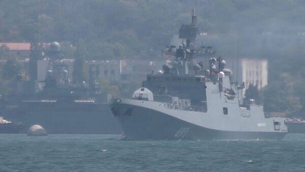 Marynarze szykują się do obchodów Dnia Marynarki Wojennej - Sputnik Polska