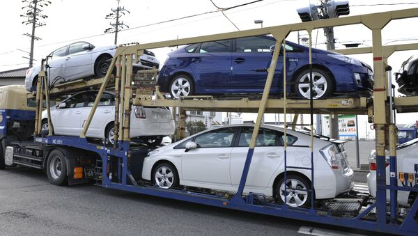 Transport samochodów - Sputnik Polska