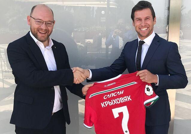 Grzegorz Krychowiak zasili Lokomotiw Moskwa