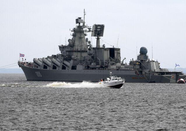 """Krążownik rakietowy """"Marszałek Ustinow"""""""