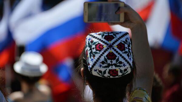 Dzień Rosji w Symferopolu - Sputnik Polska