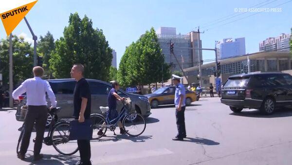 Eksplozja przed ambasadą USA w Pekinie - Sputnik Polska