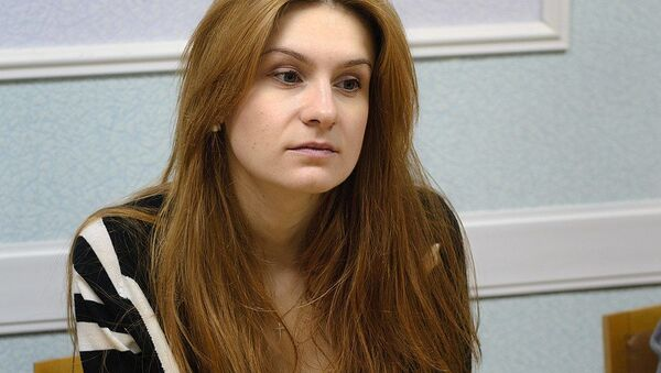 Мария Бутина, обвиняемая в шпионаже - Sputnik Polska