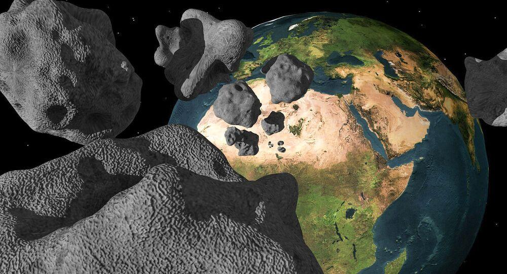 Meteoryty tuż przy Ziemi