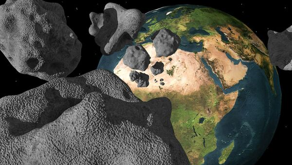 Meteoryty tuż przy Ziemi - Sputnik Polska