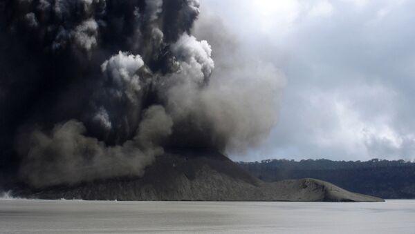 Erupcja wulkanu Manaro, Aoba, Vanatu - Sputnik Polska