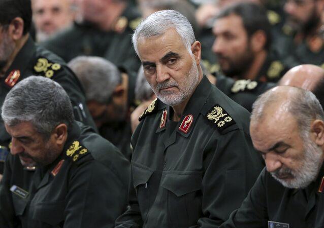 Dowódca elitarnej jednostki specjalnej w strukturze irańskiego Korpusu Strażników Rewolucji Islamskiej generał major Kasem Sulejmani