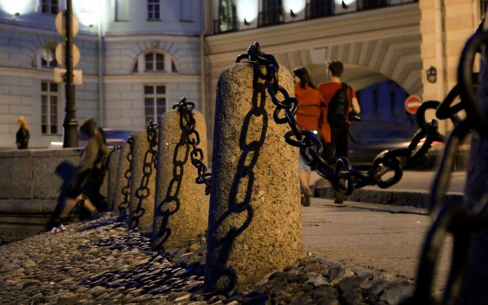 Białe nocy w Petersburgu
