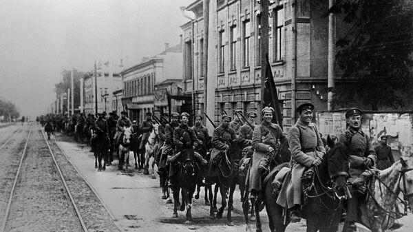 Armia Czerwona w Kazaniu, 1918 r. - Sputnik Polska