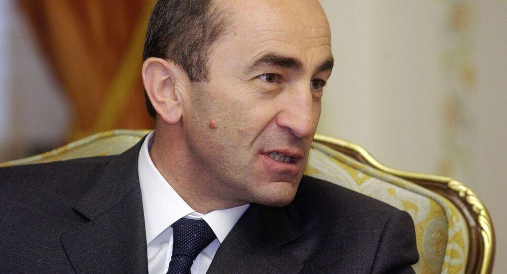 Były prezydent Armenii Robert Koczarian