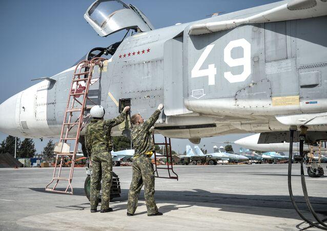 Rosyjska baza lotnicza Hmeimim w Syrii