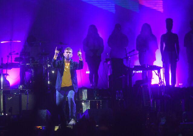 Koncert grupy Gorillaz w Moskwie
