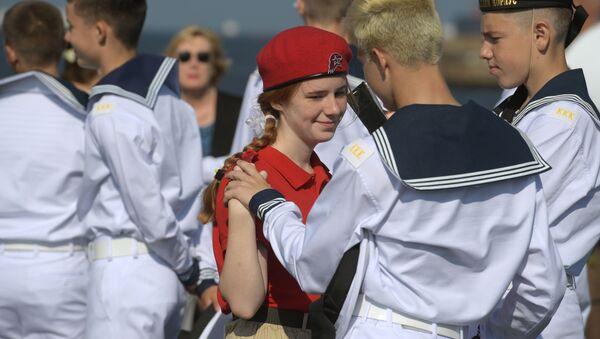 Dzień Marynarki Wojennej w Rosji - Sputnik Polska
