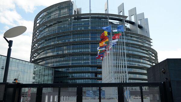 Budynek Parlamentu Europejskiego w Strasburgu - Sputnik Polska