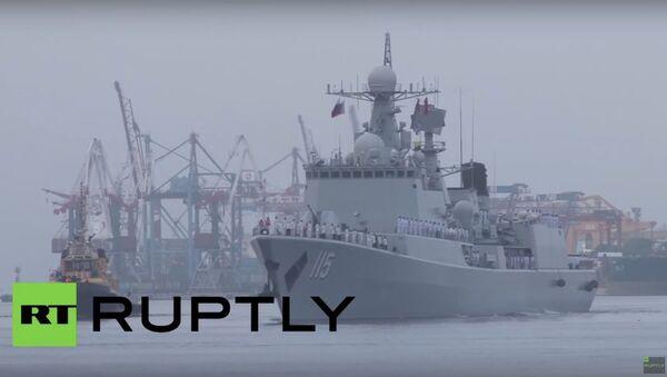 Morska współpraca 2015 - Sputnik Polska