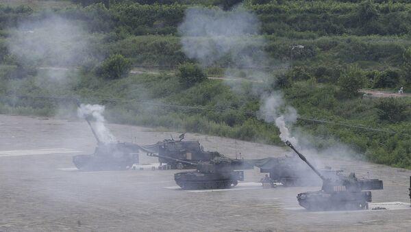Ćwiczenia wojskowe USA i Korei Południowej - Sputnik Polska