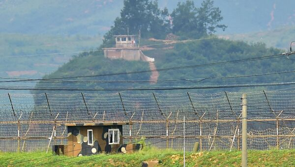 Punkty wojskowe Korei Półudniowej i Korei Północnej - Sputnik Polska