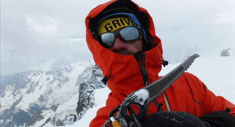 Rosyjski alpinista Aleksander Gukow