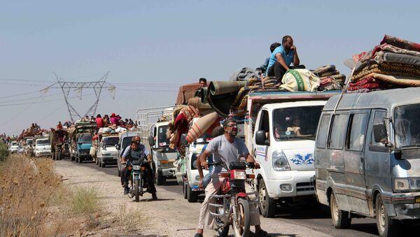 Syryjczycy wracają do domu - Sputnik Polska