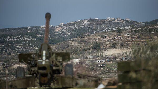 Syryjska armia w prowincji Idlib - Sputnik Polska