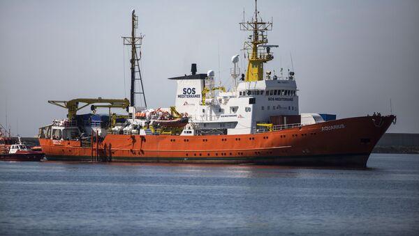 Statek Aquarius - Sputnik Polska