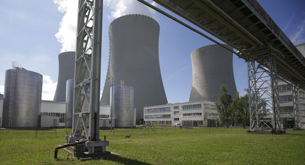 Ektrownia atomowa Temelín.