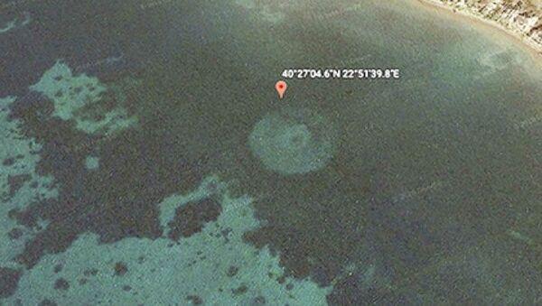 Tajemnicze kręgi u wybrzeży Grecji - Sputnik Polska