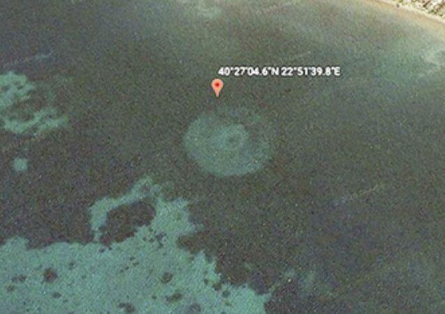 Tajemnicze kręgi u wybrzeży Grecji