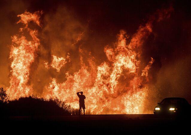 Pożary w Kaliforni