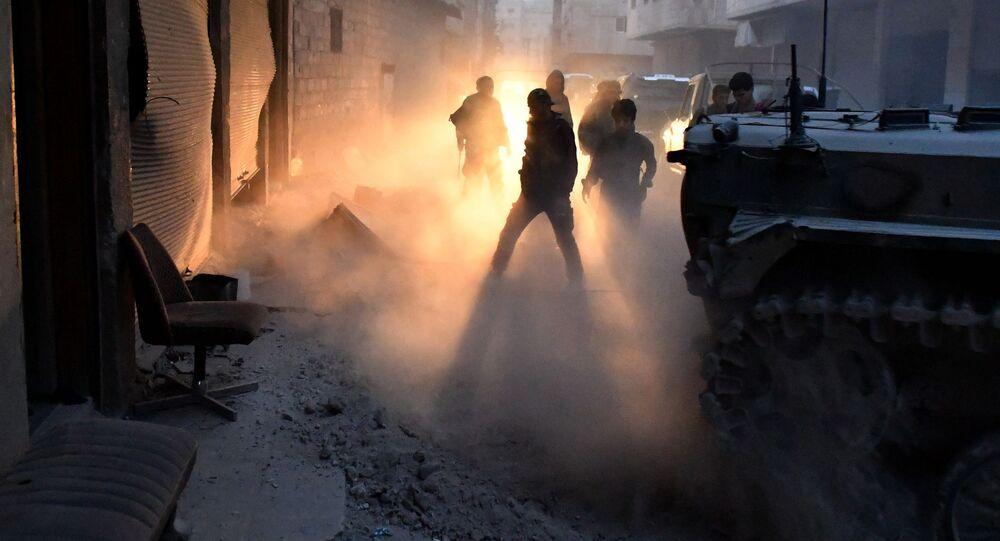 Walki koło Damaszku