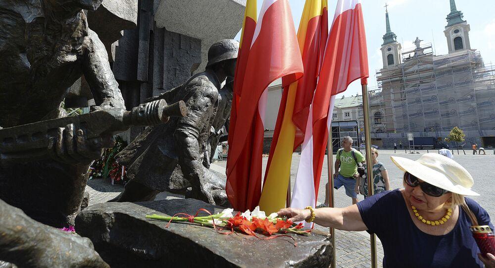 Obchody 74. rocznicy Powstania Warszawskiego w Polsce