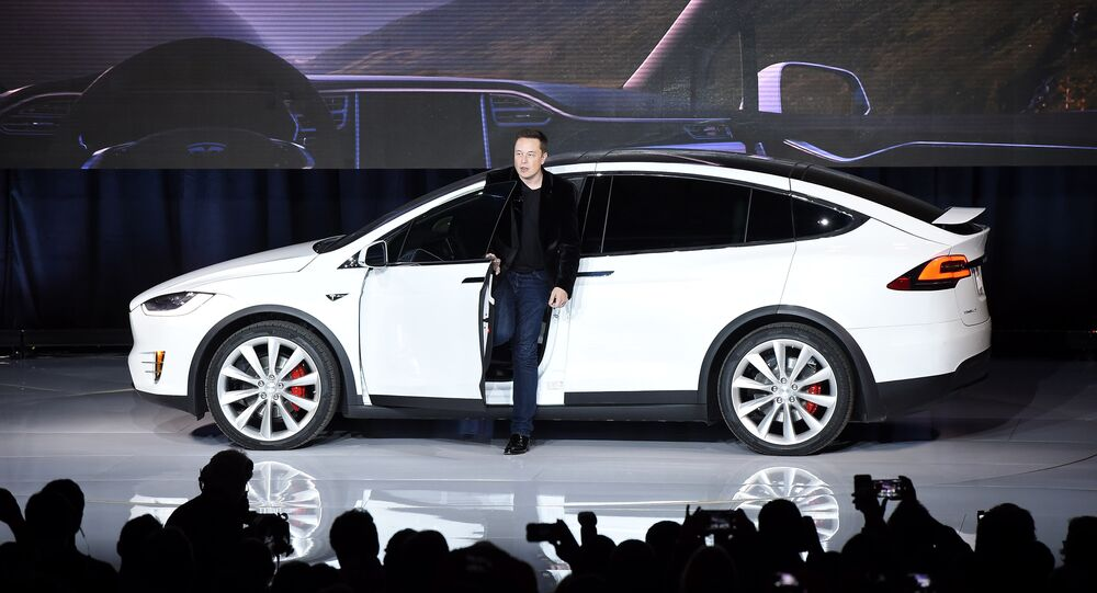 Elon Musk i Tesla
