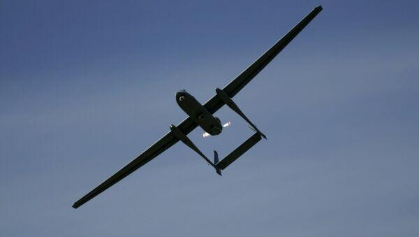 Izraelski dron Heron - Sputnik Polska