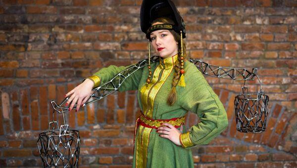 Artystka Aleksandra Iwliewa - Sputnik Polska