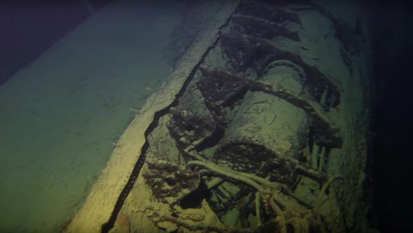 Włoski okręt podwodny Alberto Guglielmotti - Sputnik Polska